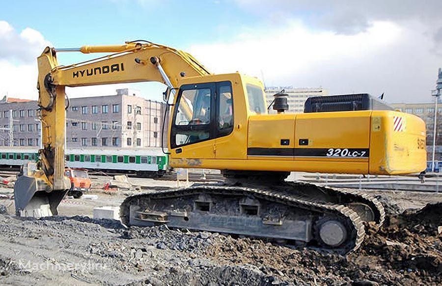HYUNDAI R320LC-7 excavadora de orugas