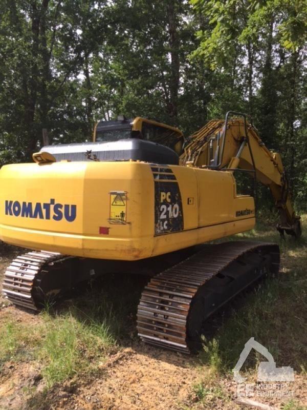 KOMATSU PC 210 LC-8K excavadora de orugas