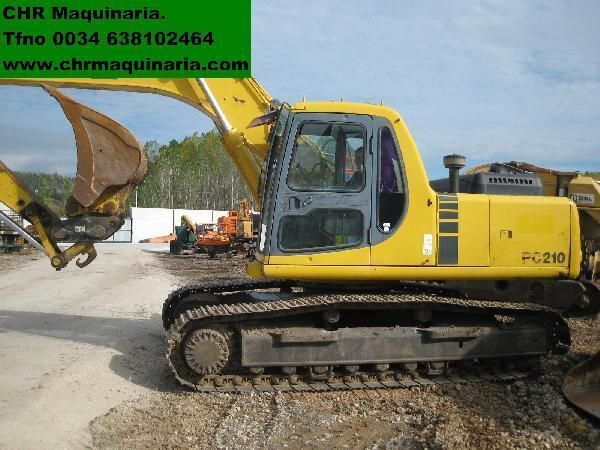 KOMATSU PC210-6 excavadora de orugas