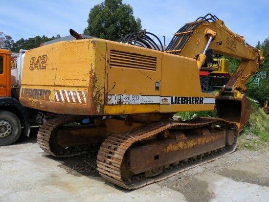 excavadora de orugas LIEBHERR R 942 HD-S para piezas
