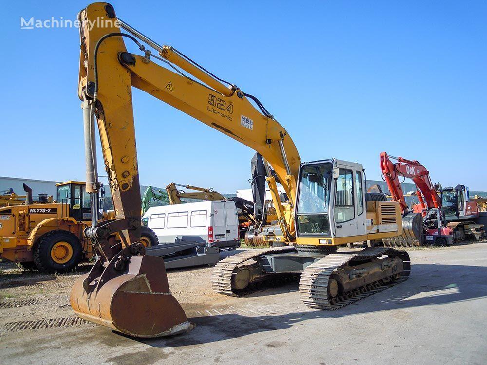 excavadora de orugas LIEBHERR R924B HDSL
