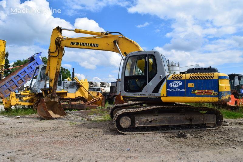 NEW HOLLAND E215B excavadora de orugas
