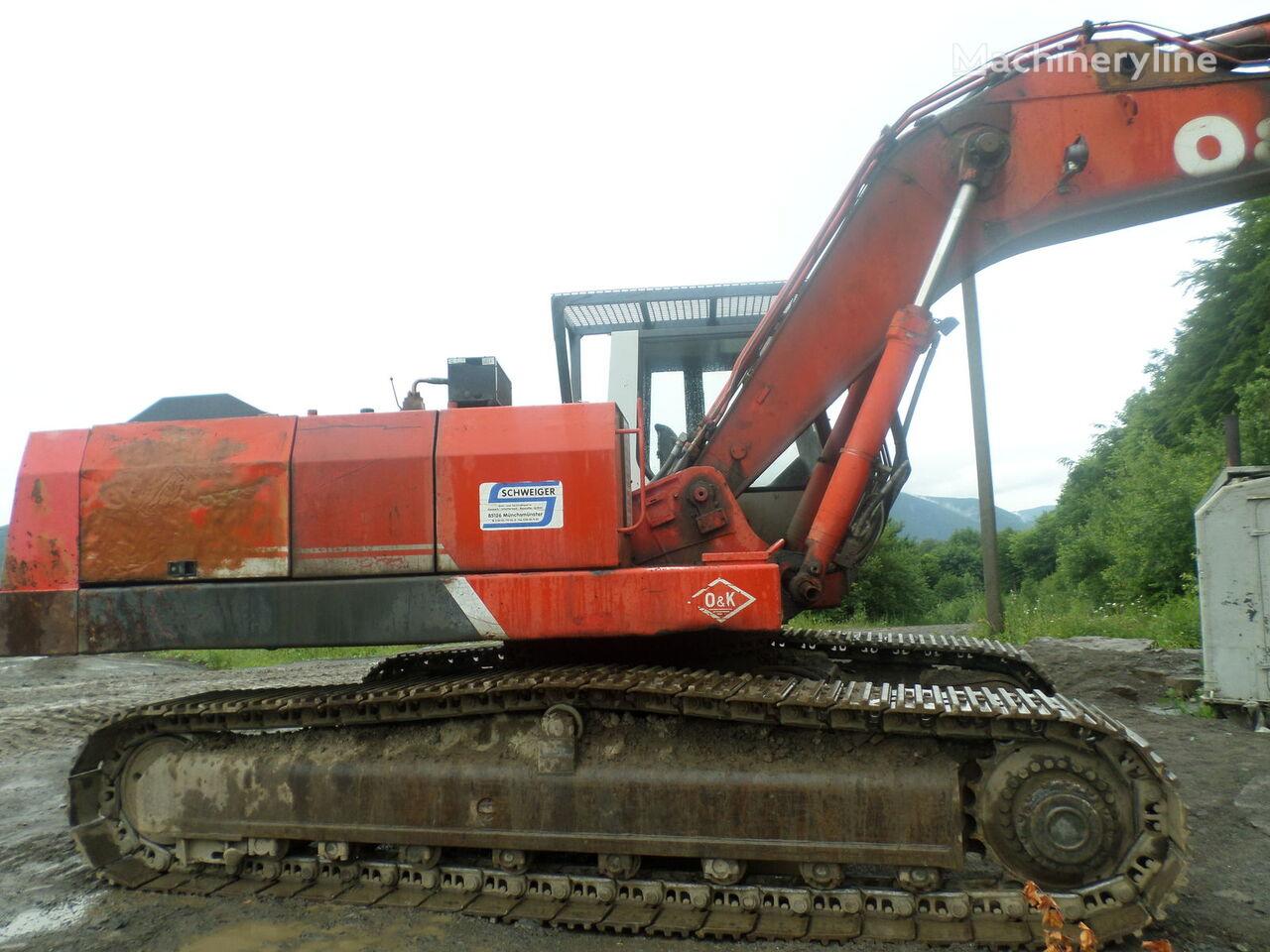 excavadora de orugas O&K RH 16
