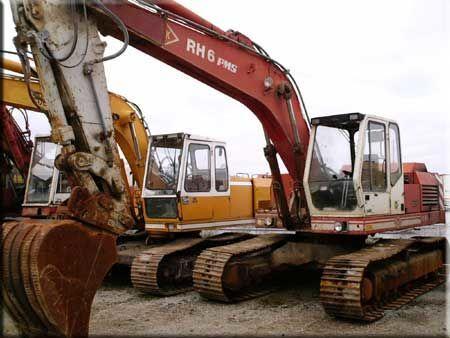 O&K RH6 PMS excavadora de orugas