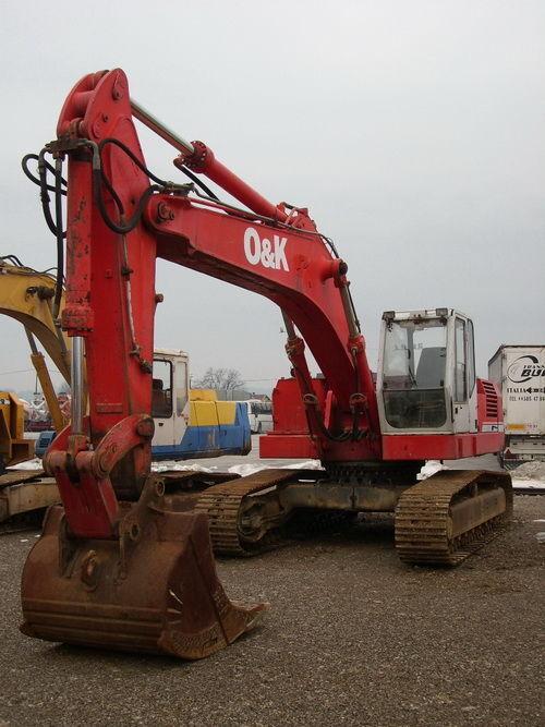 O&K RH9 excavadora de orugas