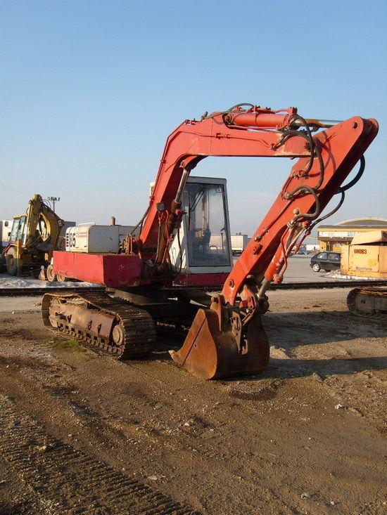 POCLAIN 85B excavadora de orugas