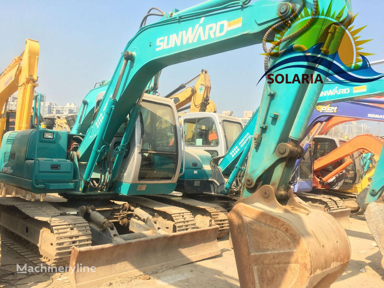SUNWARD SWE90 excavadora de orugas