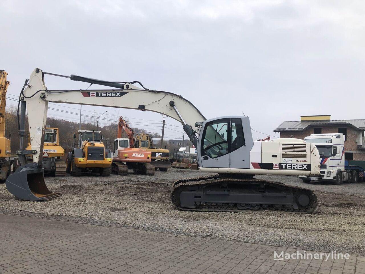 TEREX TC260 excavadora de orugas