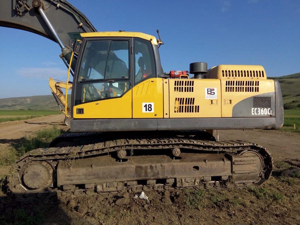 VOLVO EC360 CL excavadora de orugas