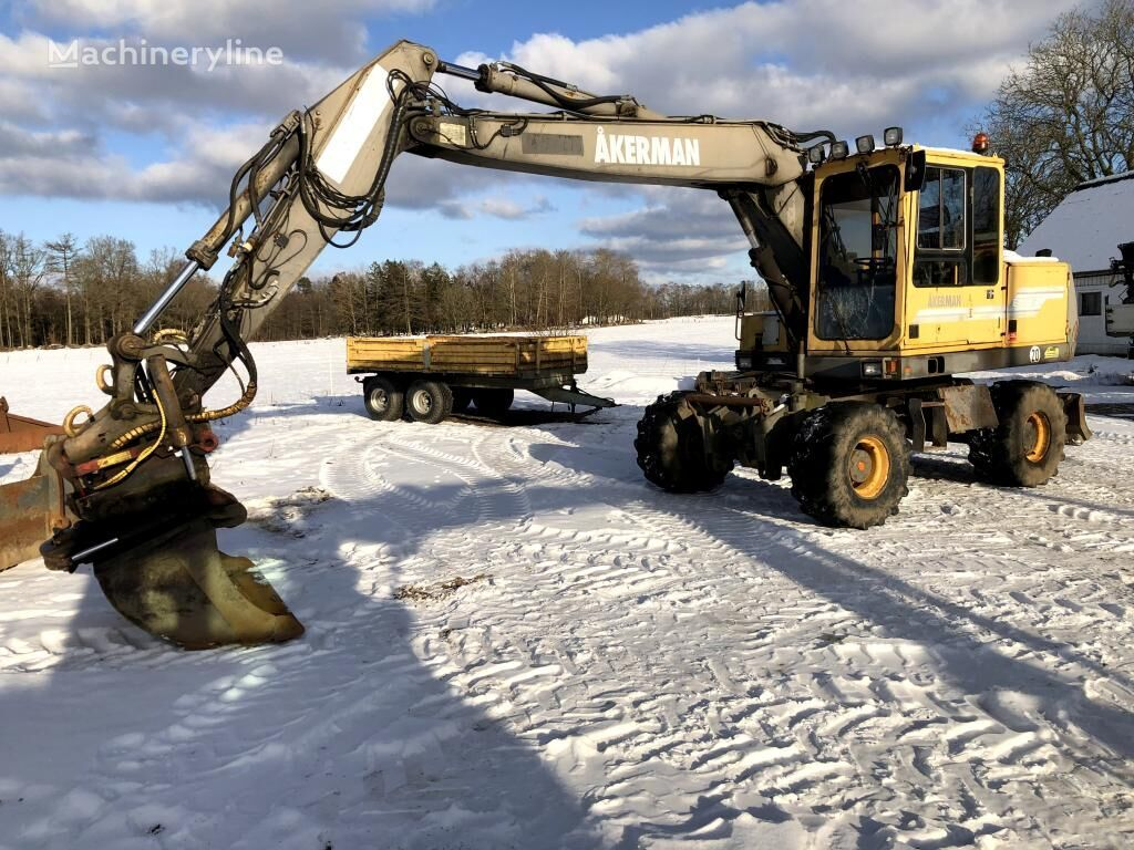 AKERMAN EW 150 excavadora de ruedas