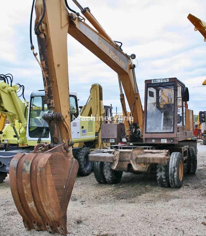 CASE POCLAIN 80P excavadora de ruedas