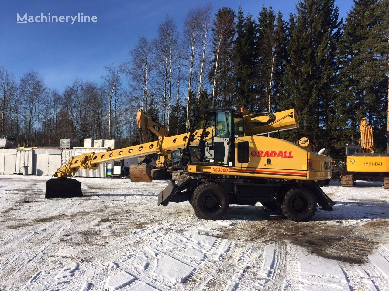 GRADALL XL 3300 excavadora de ruedas