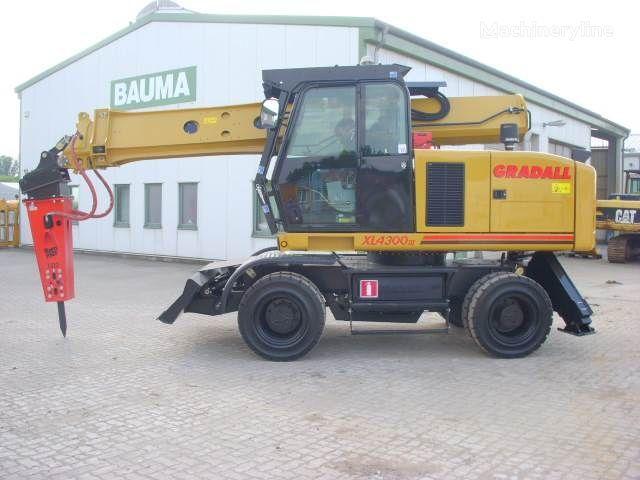 GRADALL XL 4300 excavadora de ruedas