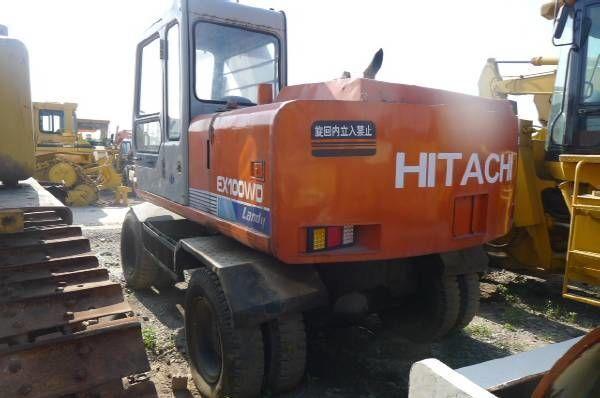 HITACHI EX100WD excavadora de ruedas