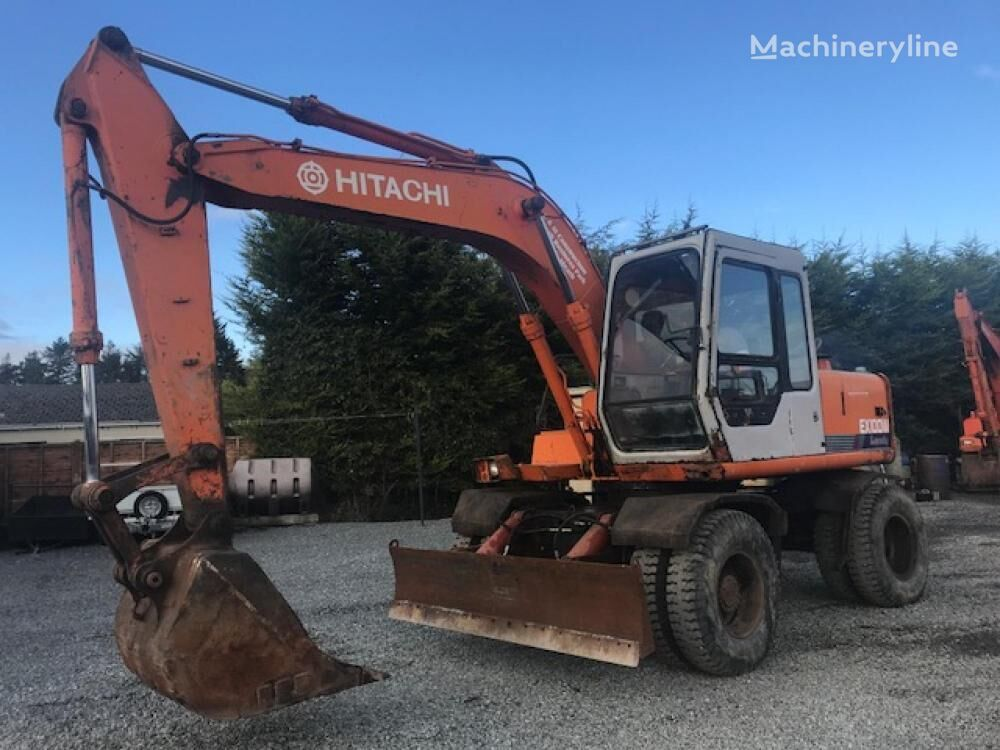 HITACHI EX100WD-1 excavadora de ruedas