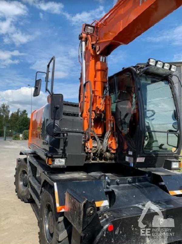HITACHI ZX 140 W-5B excavadora de ruedas