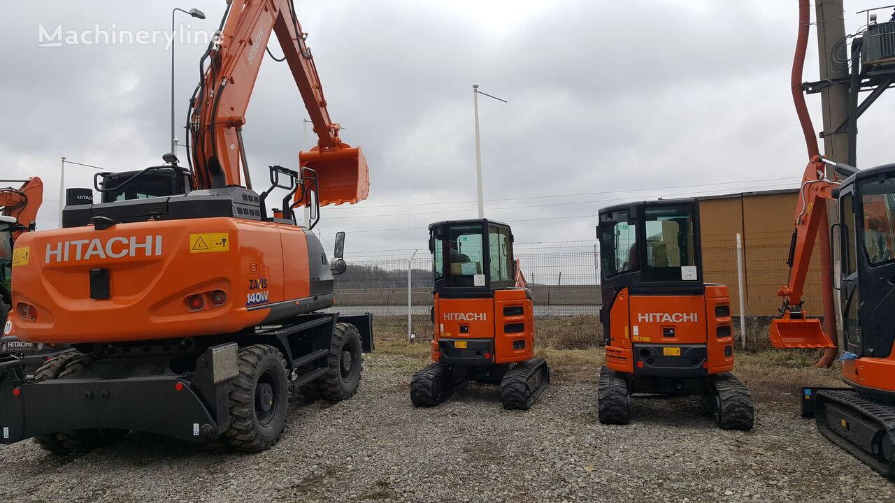 excavadora de ruedas HITACHI ZX140W-6