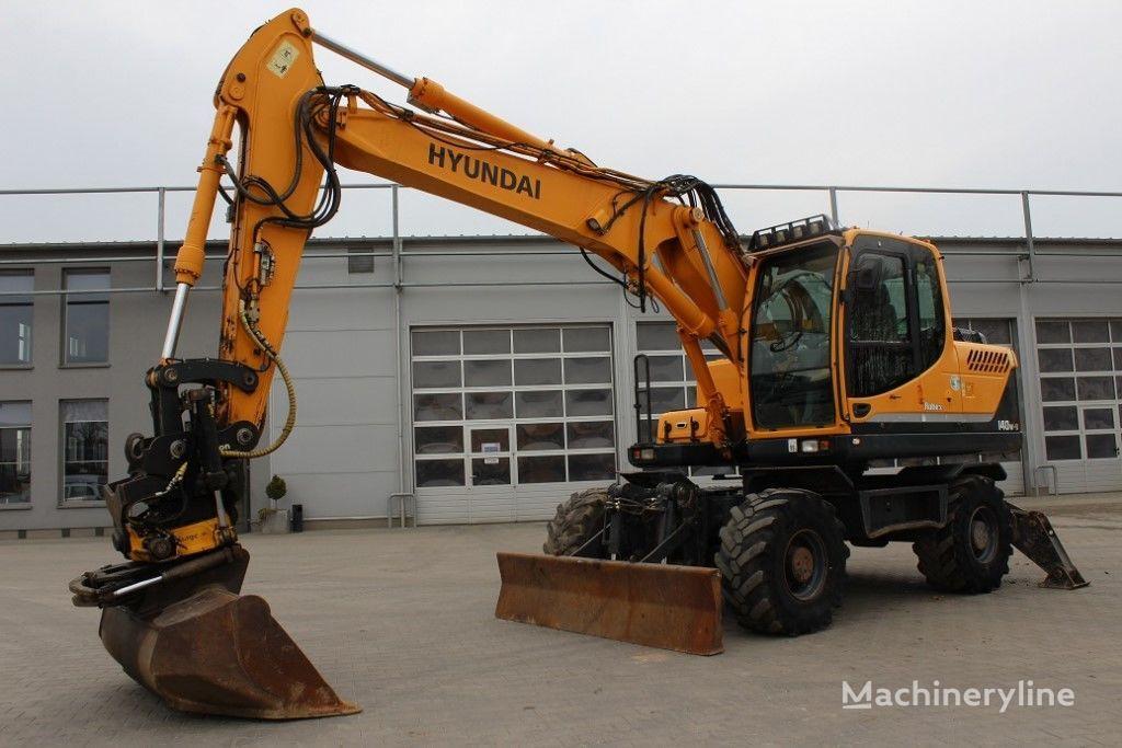 HYUNDAI Robex 140W-9 excavadora de ruedas