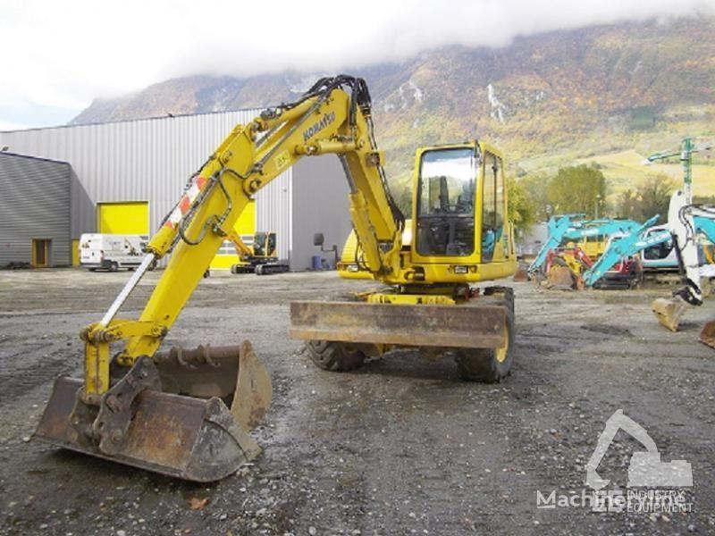 KOMATSU PW 110 R excavadora de ruedas