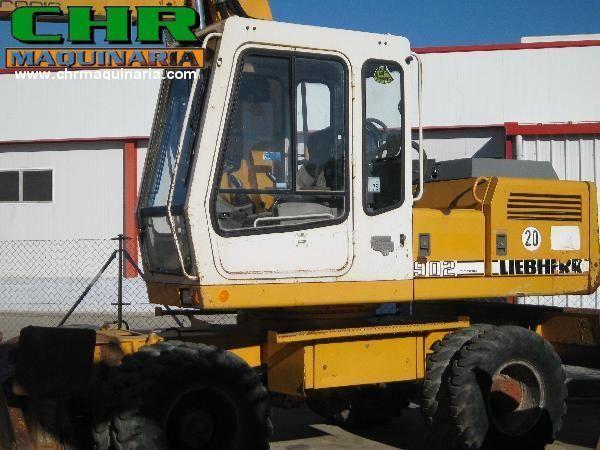 excavadora de ruedas LIEBHERR 902