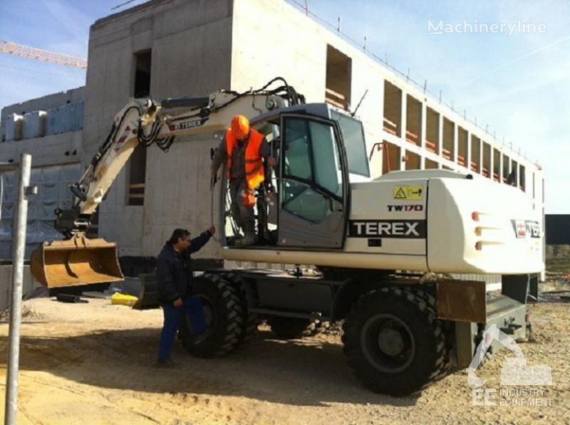 TEREX TW 170 excavadora de ruedas