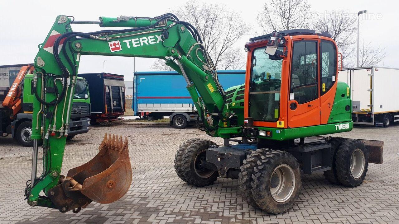 excavadora de ruedas TEREX TW85  ref.7000