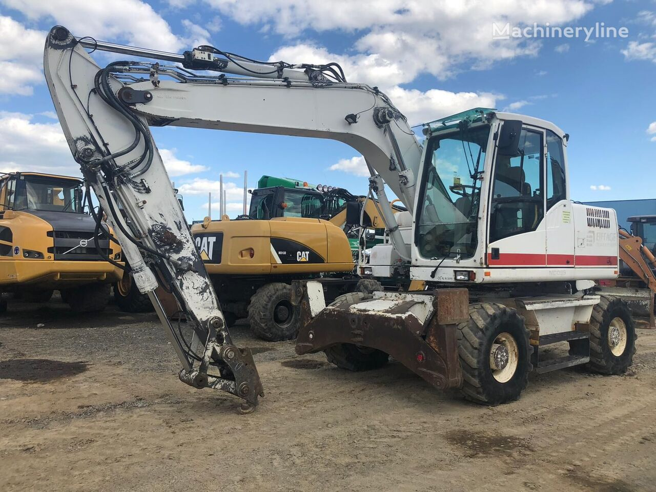 VOLVO EW 140C excavadora de ruedas