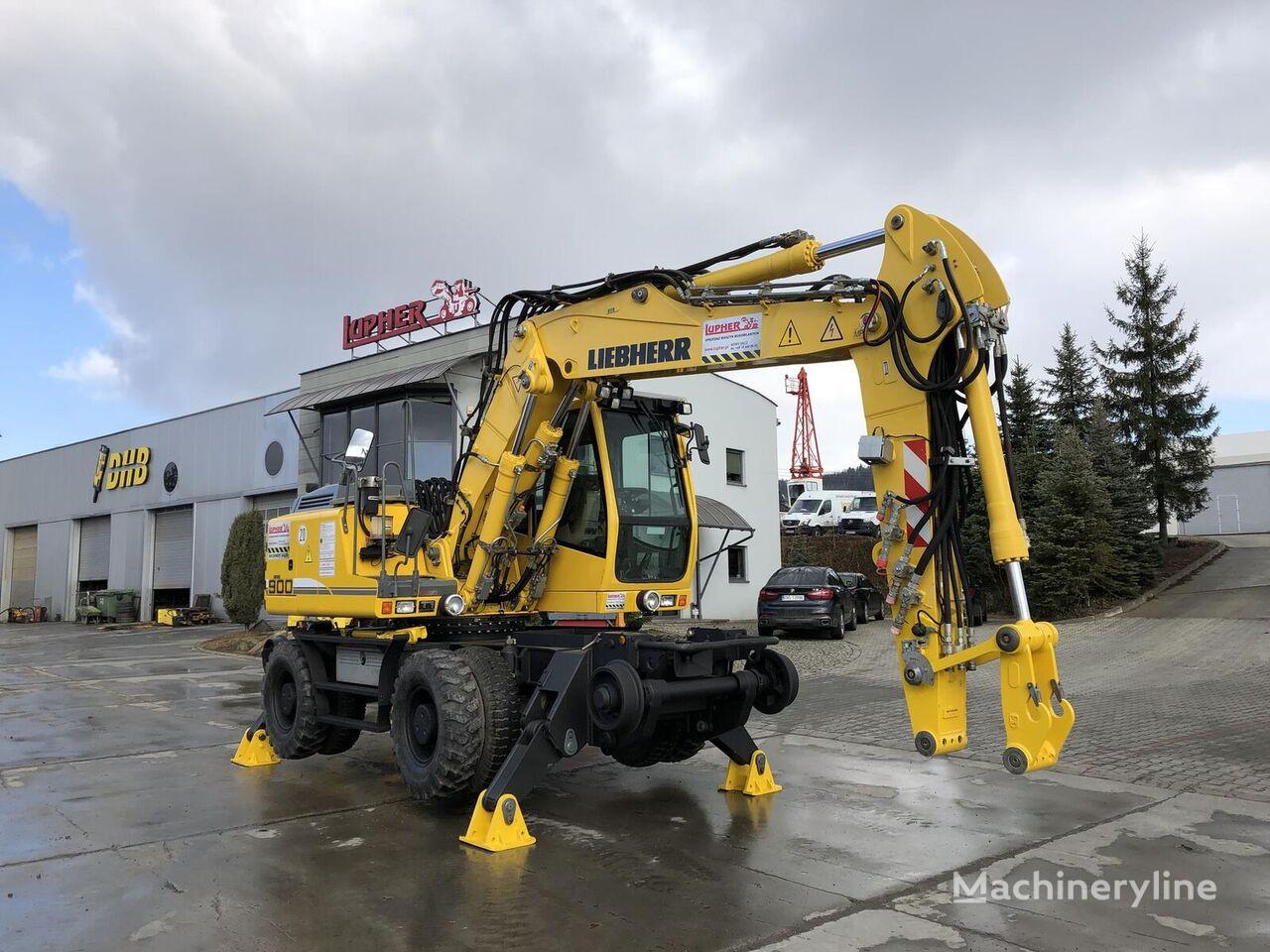 LIEBHERR A900C ZW excavadora rail