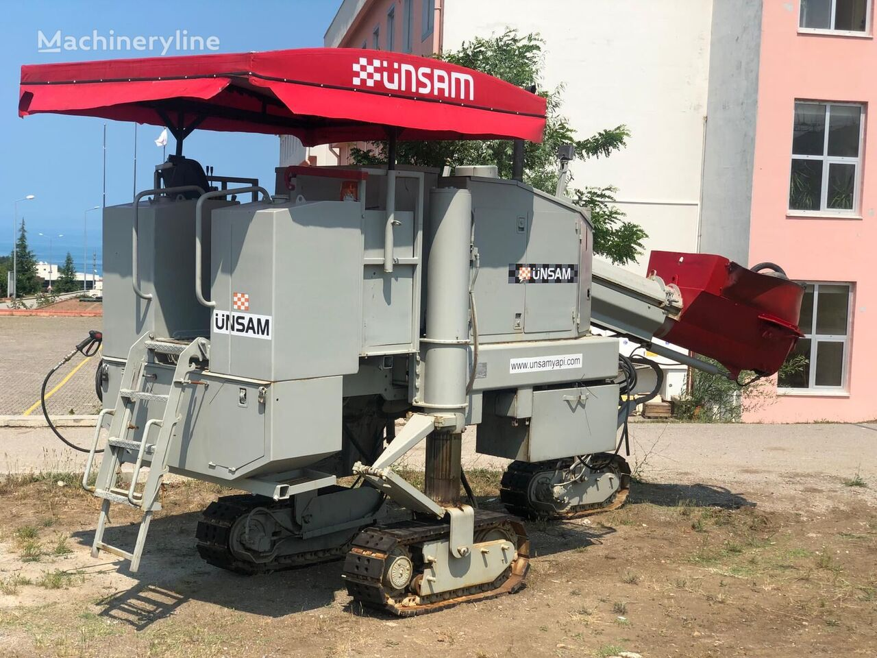 Power Curber 5700 C extendedora de hormigón
