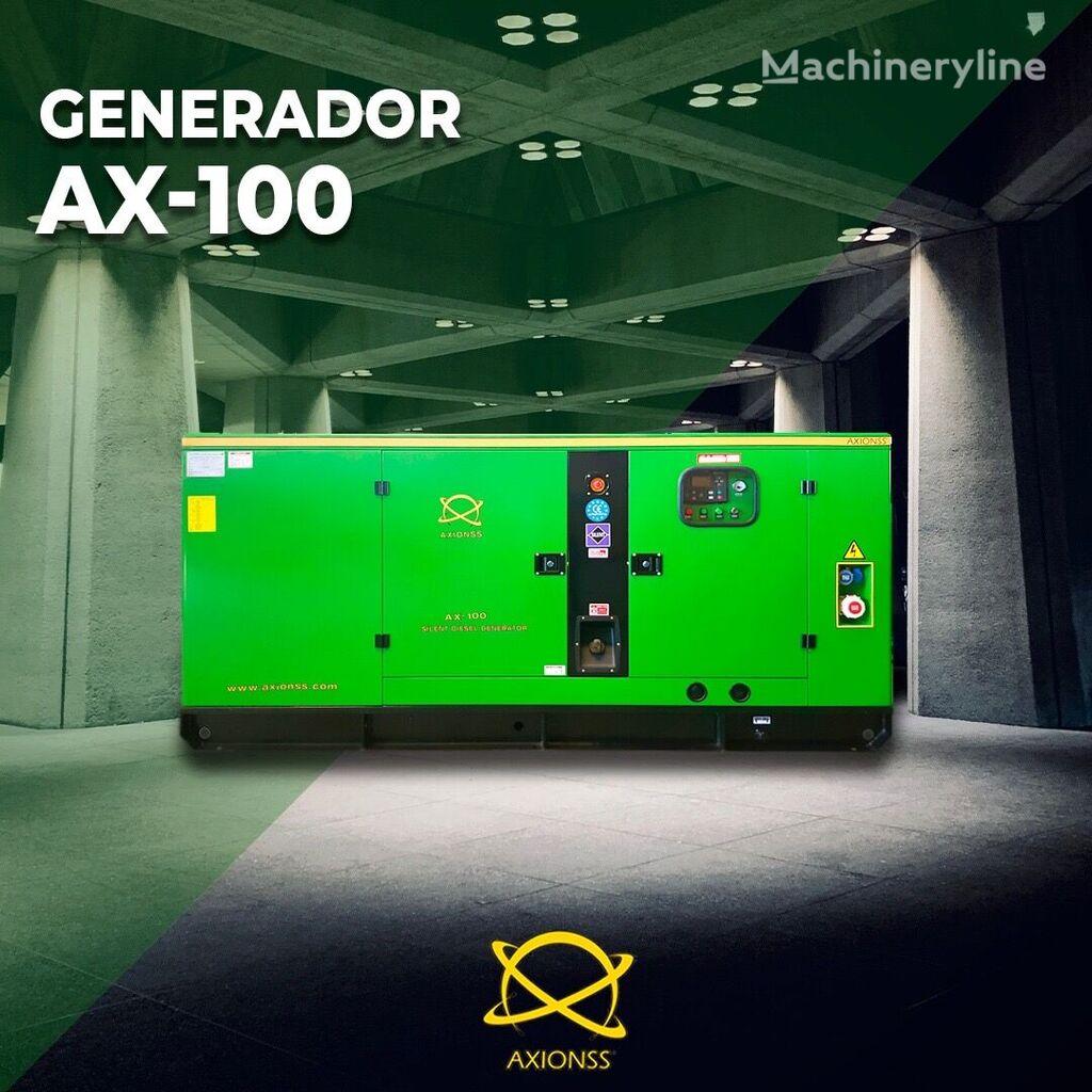 AXIONSS AX-15, 50, 100KVAS generador de diésel nuevo