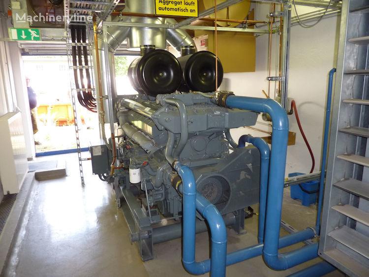 DEUTZ TBD616V12 generador de diésel