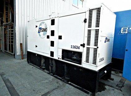 SDMO R165 generador de diésel