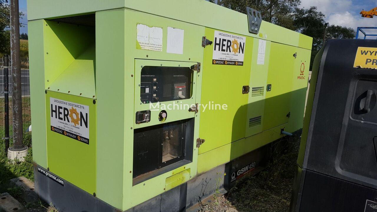 PRAMAC GSW450 GSW410 450KVA 410KVA generador