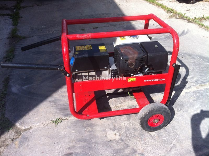 SDMO 7500 t-2 generador