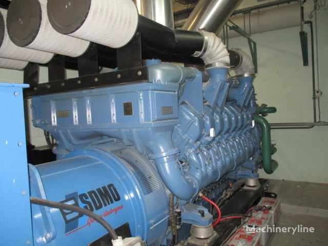generador SDMO XS2000,2000 KVA,only 963h!