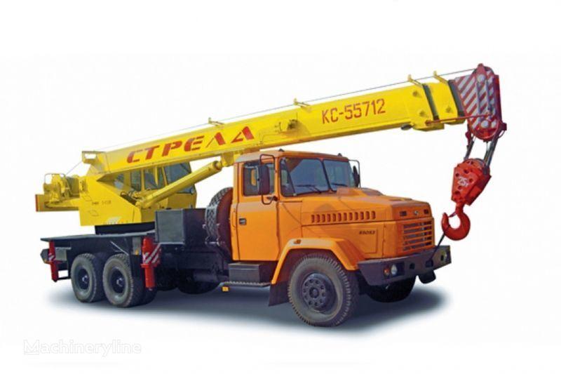 KRAZ 65053 (KTA-25) i KrAZ-63221 (KTA-25)  grúa móvil