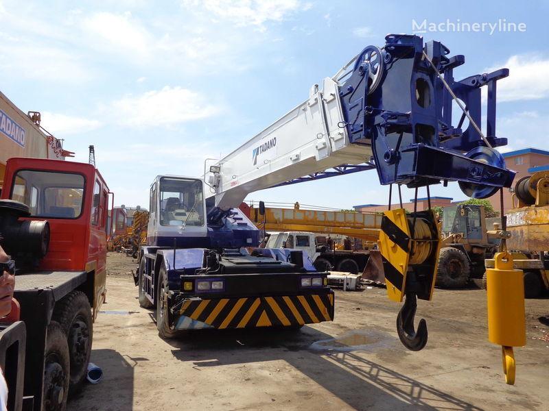 TADANO TR250M(rough terrain crane) grúa móvil
