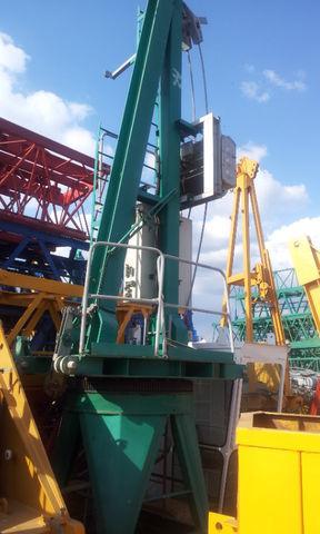 POTAIN JASO J 5010 con base, opcion cabina grúa torre en venta segunda mano  Ávila