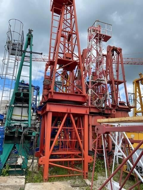 WOLFF WK 91SL grúa torre