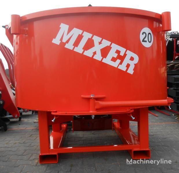 Agro- Factory MIXER Traktor-Betonmischer/ Betoniarka ciągnikowa  hormigonera nueva