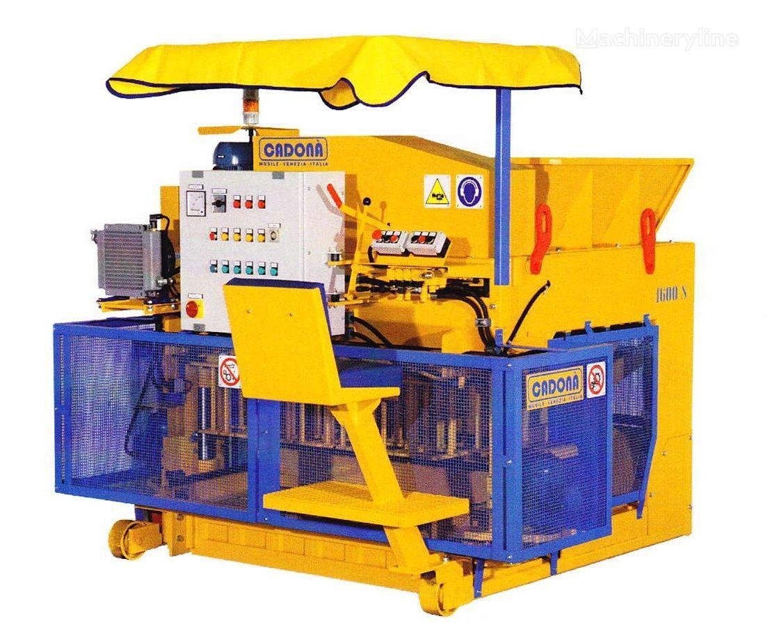 Cadona 1600S máquina para fabricar bloques de hormigón nueva