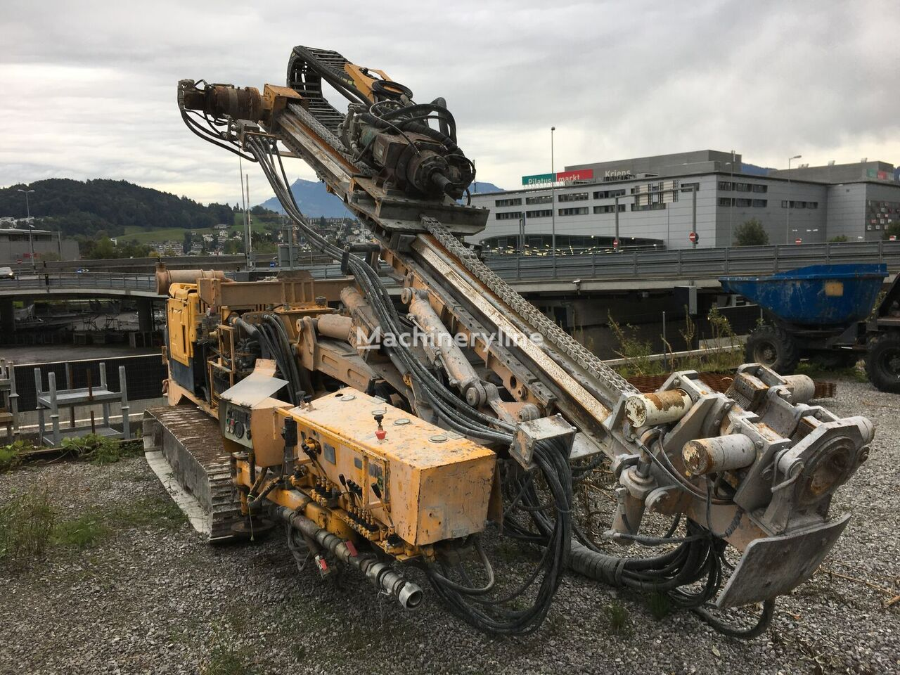 BERETTA T 57 máquina perforadora