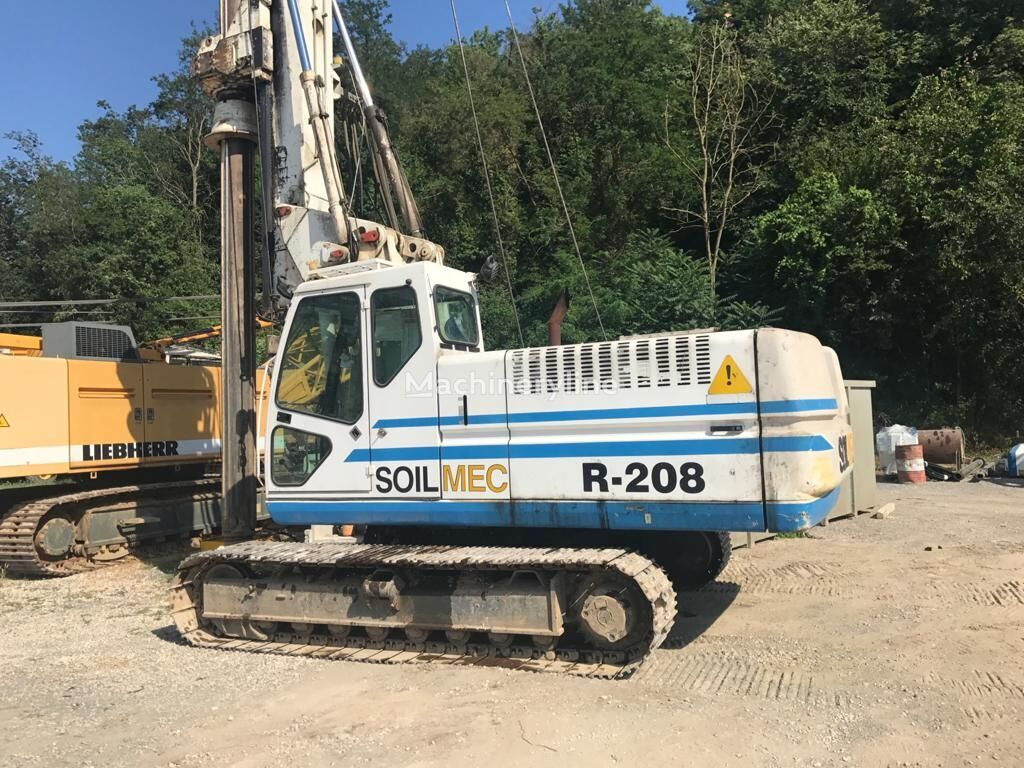 SOILMEC R 208 máquina perforadora