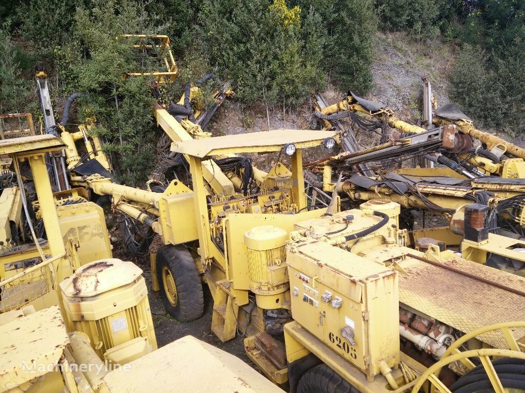 Atlas Copco Boomer H135 máquina rozadora