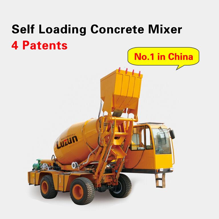 máquina rozadora selfloading concrete mixer nueva