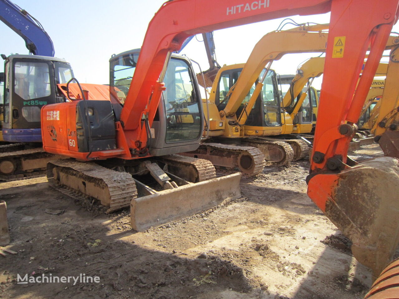 HITACHI ZX60 mini excavadora
