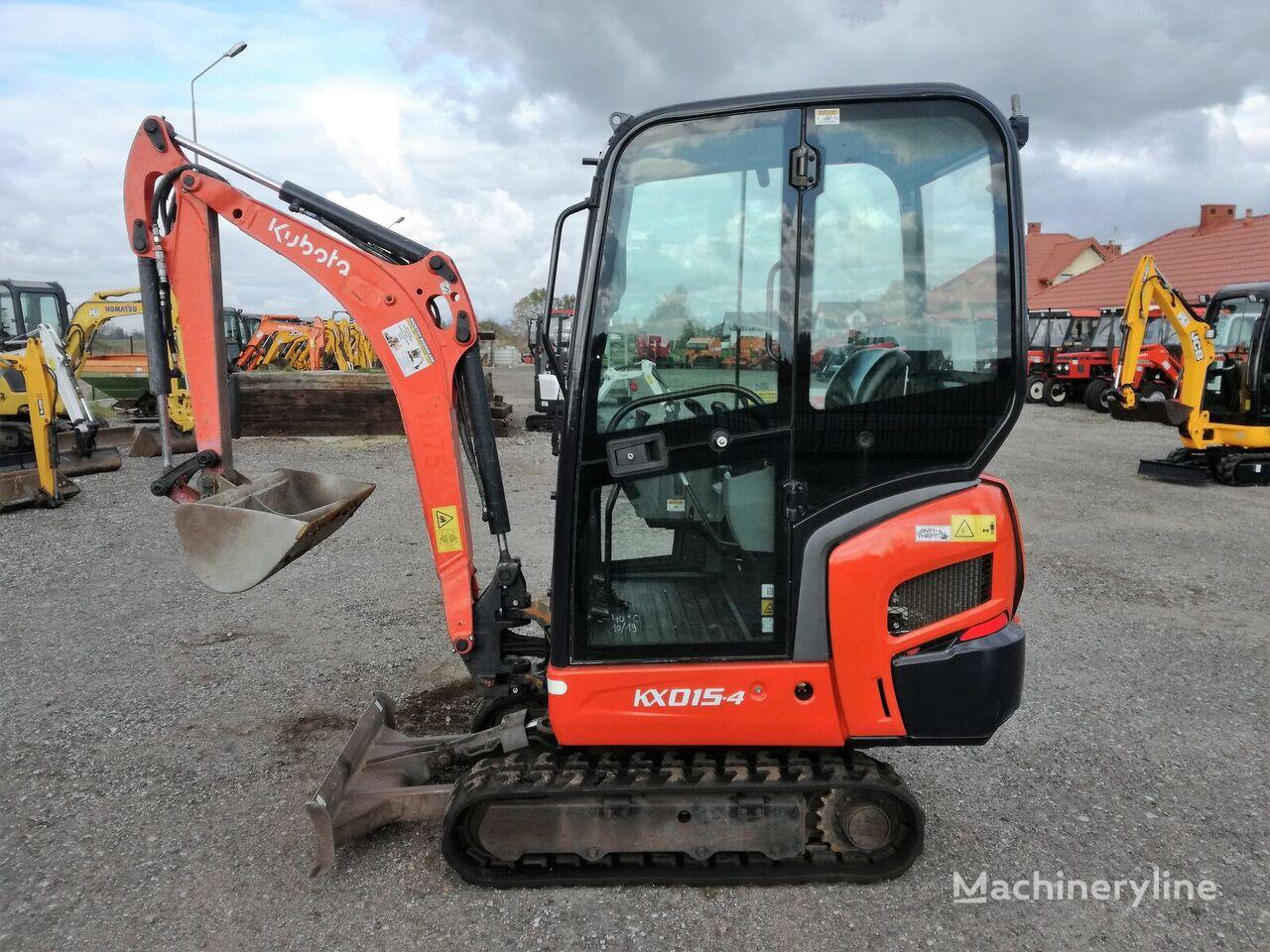 KOMATSU KX 015-4 , 2012r  016-4 018-4 mini excavadora