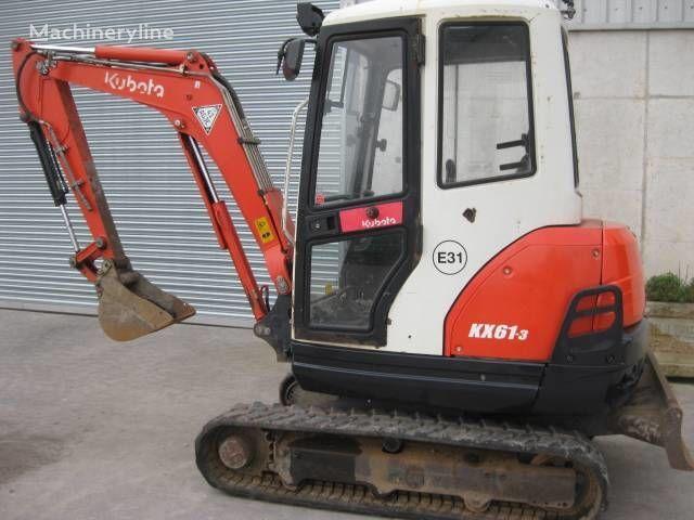 mini excavadora KUBOTA KX 61-3
