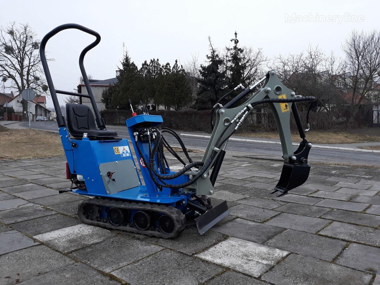 SM BAUMASCHINEN MikroSM Mikrobagger Honda mini excavadora nueva