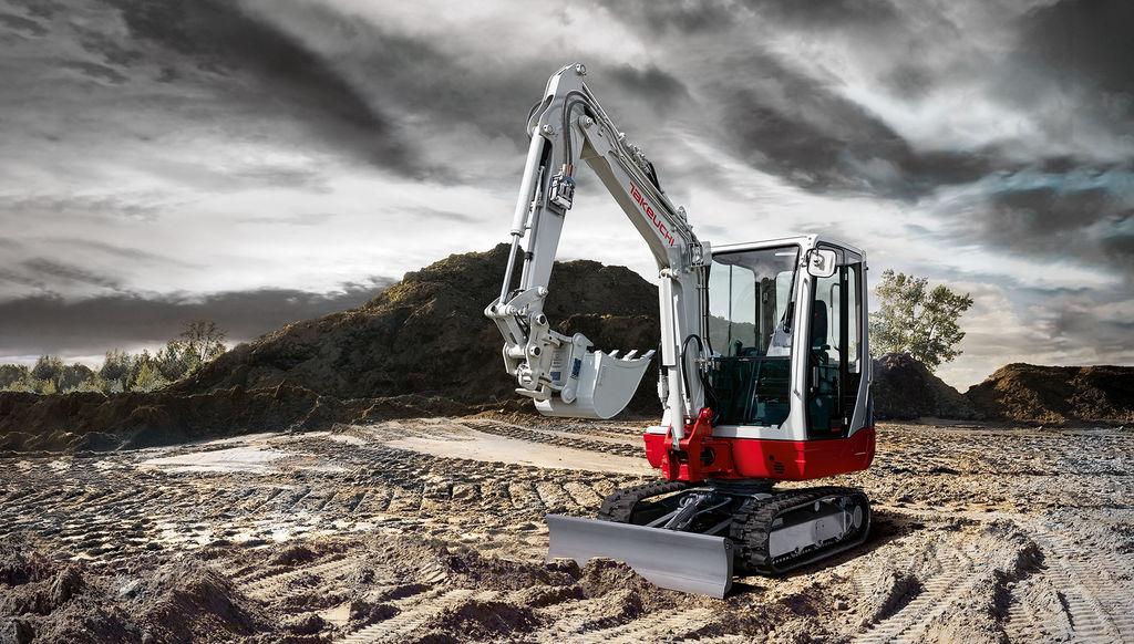 TAKEUCHI TB 228 mini excavadora nueva